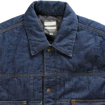 Momotaro 2nd Type GTB Denim Batting Jacket - Okayama Denim Jacket - Selvedge