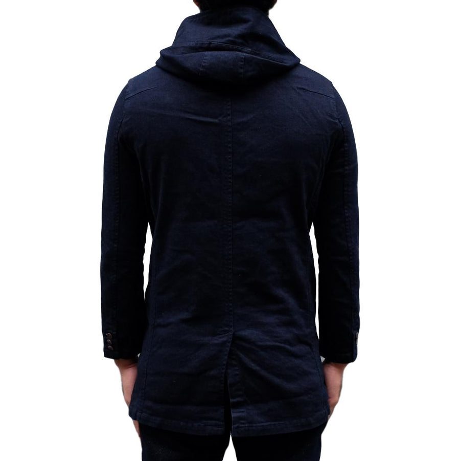 Japan Blue Deep Indigo Denim Coat