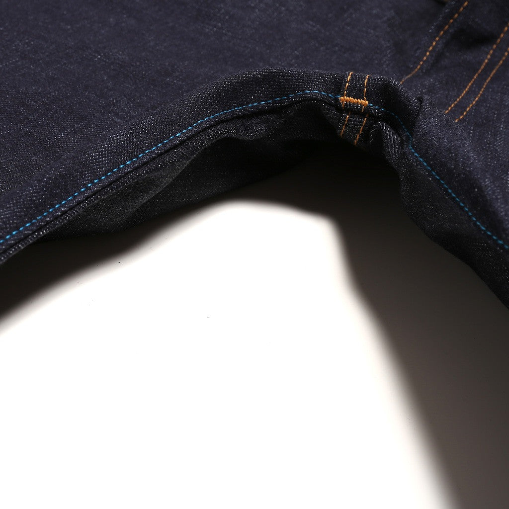 Japan Blue JB04S12 16.5oz. Pocket Stitch (Slim Tapered) - Okayama Denim Jeans - Selvedge