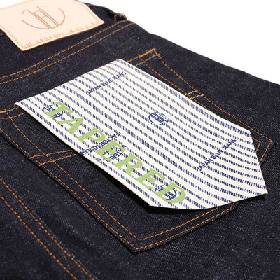 Japan Blue JB04S01 Pocket Stitch (Slim Tapered) - Okayama Denim Jeans - Selvedge