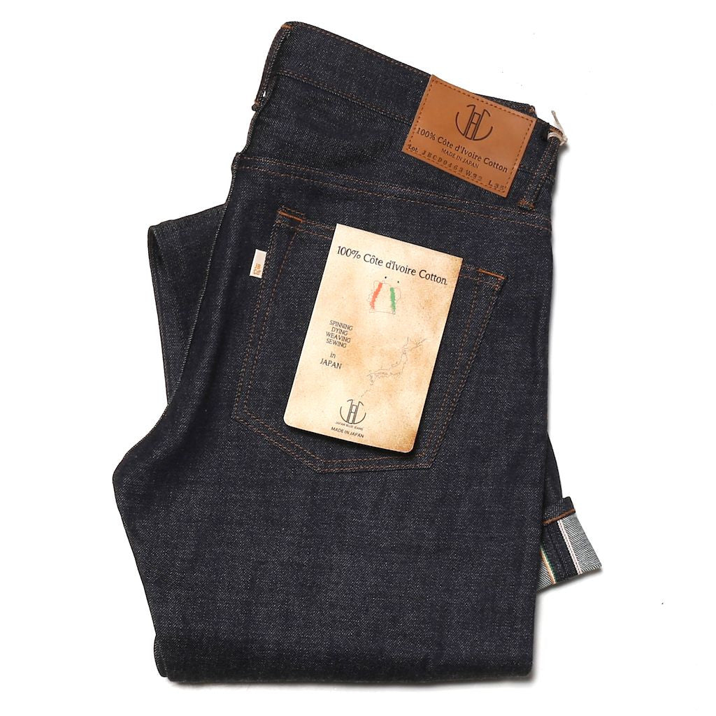 Japan Blue JBCD0463 Cote D'Ivoire (Slim Tapered) - Okayama Denim Jeans - Selvedge