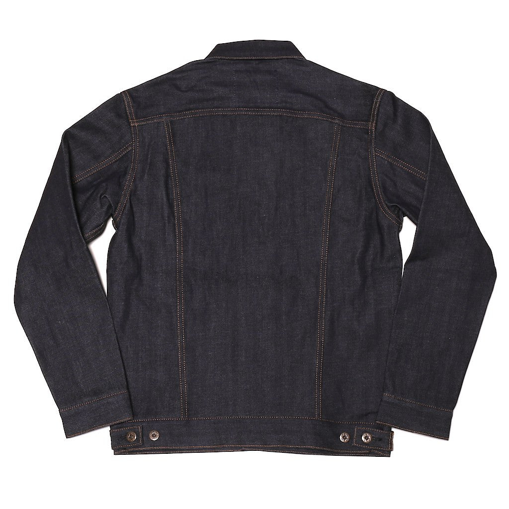 Japan Blue 14oz. Logo Stitch Selvedge Jacket - Okayama Denim Jacket - Selvedge