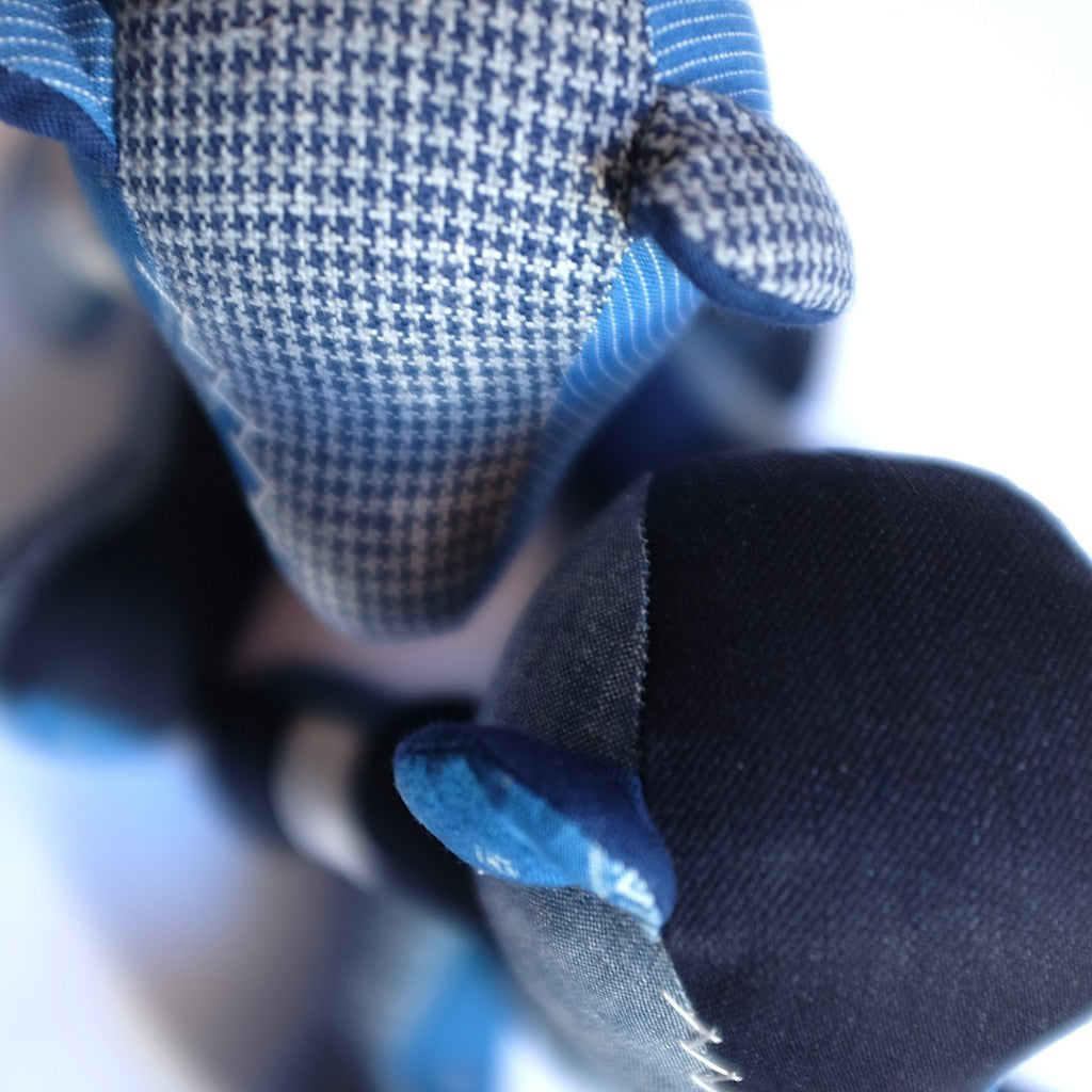 Japan Blue Indigo Patchwork Teddy Bear