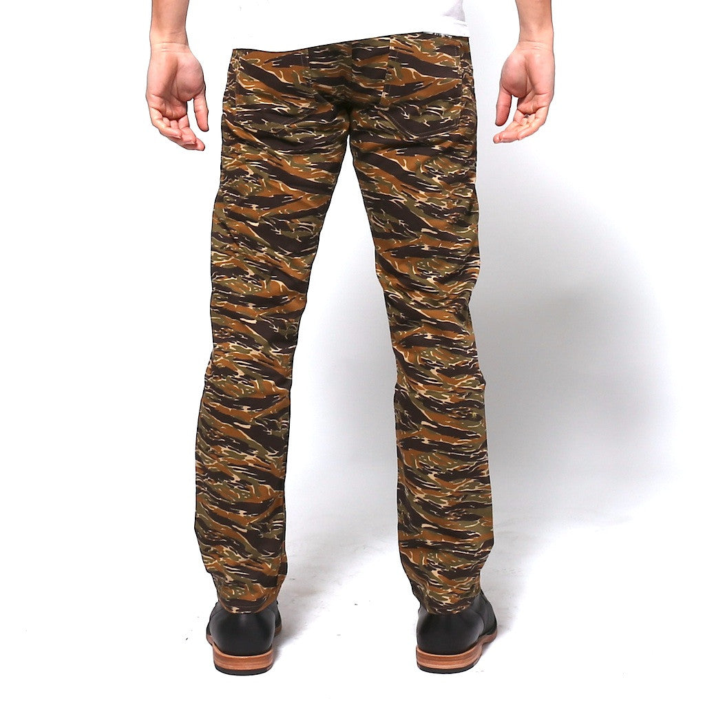 Japan Blue JB2100 Tiger Camo (Slim Tapered) - Okayama Denim Pants - Selvedge