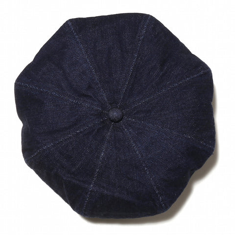Japan Blue Beret Hat - Okayama Denim Accessories - Selvedge