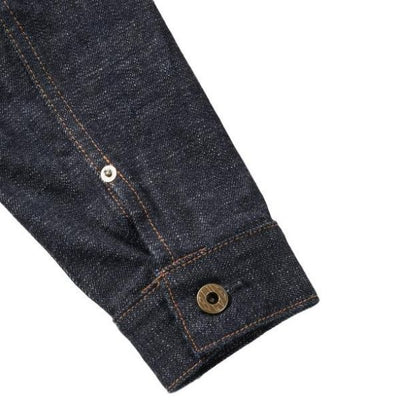 Japan Blue 16.5oz Côte d'lvoire Selvedge Denim Jacket - Okayama Denim Jacket - Selvedge