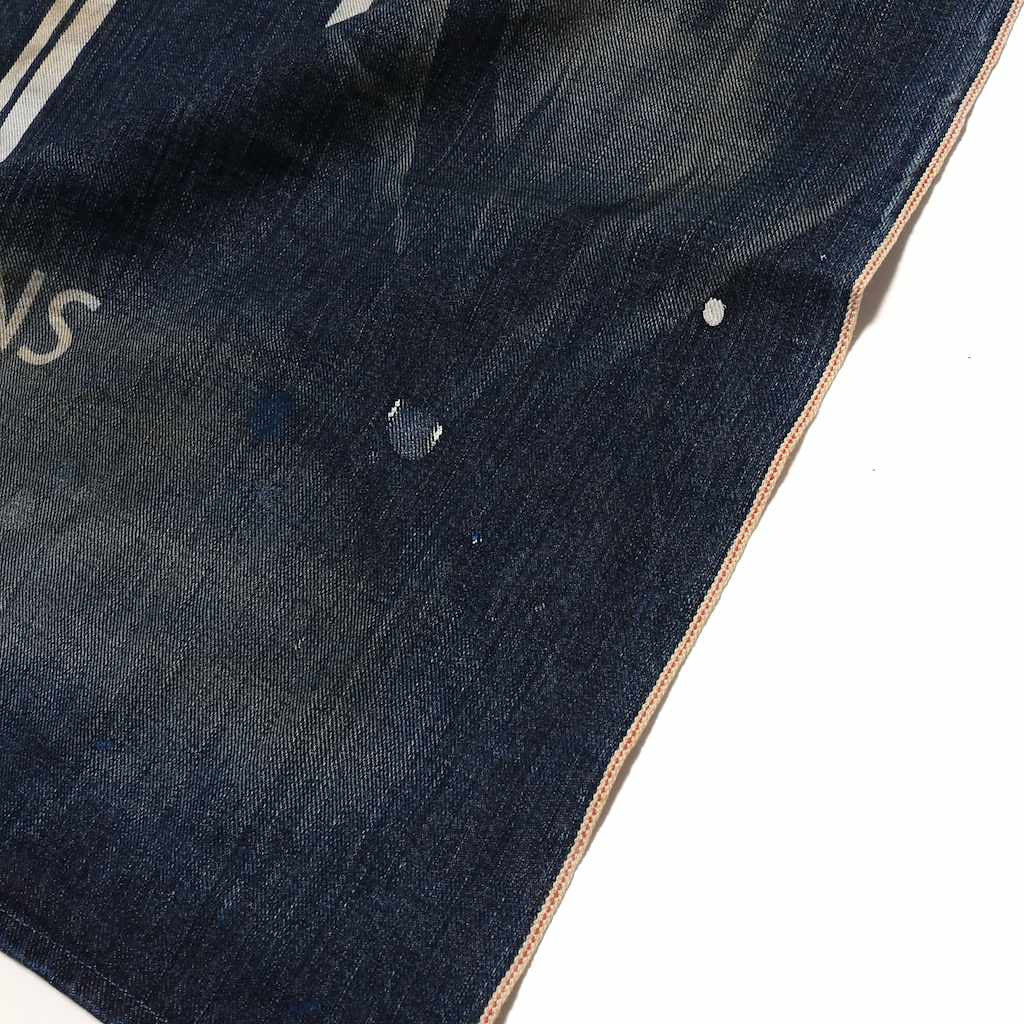Japan Blue Denim Banner - Okayama Denim Accessories - Selvedge