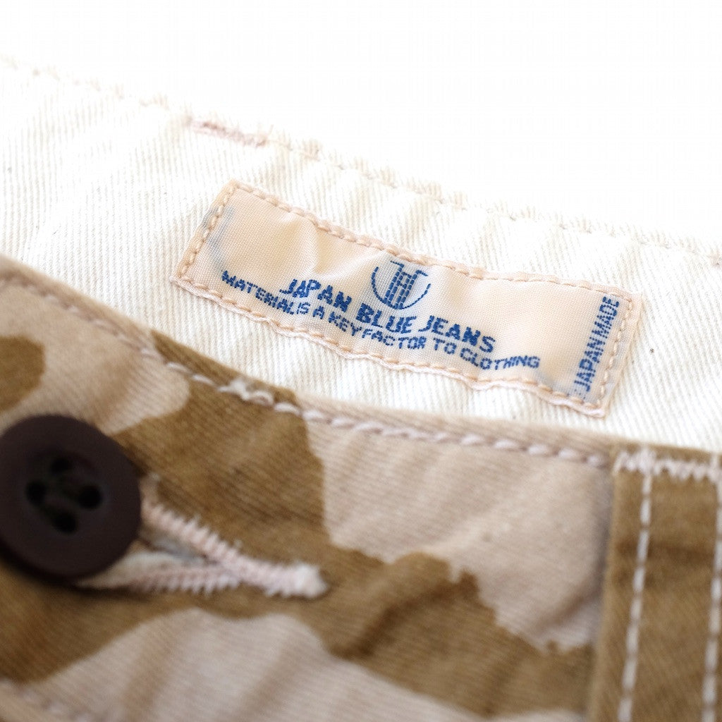 Japan Blue Desert Tiger Stripe Camo Shorts