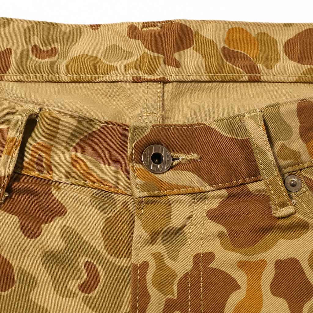 Japan Blue JB2100 Duck Camo (Slim Tapered)