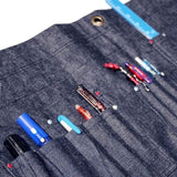 Japan Blue Denim Wall Drape