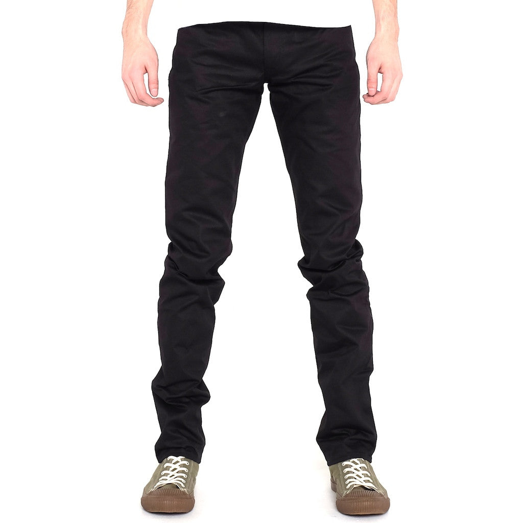 Japan Blue JB0450 Black (Slim Tapered) - Okayama Denim Pants - Selvedge
