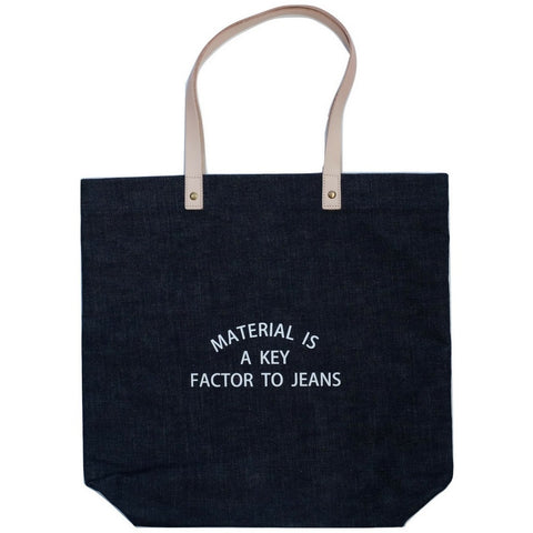Japan Blue Denim Tote Bag - Okayama Denim Accessories - Selvedge