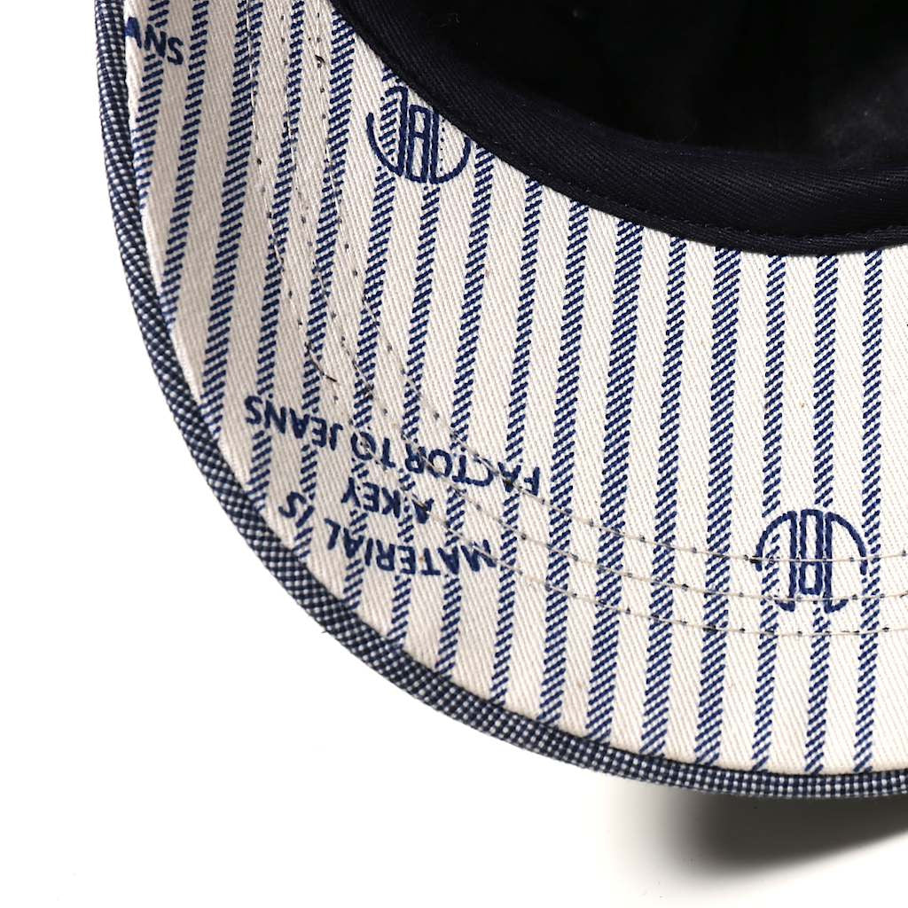 Japan Blue Chambray Classic Cap - Okayama Denim Accessories - Selvedge