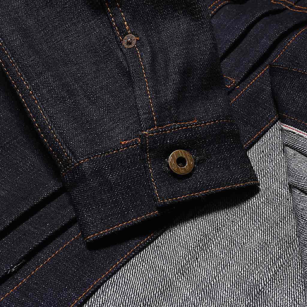 Japan Blue JBJK1012 16.5oz. Type 2 Selvedge Denim Jacket - Okayama Denim Jacket - Selvedge