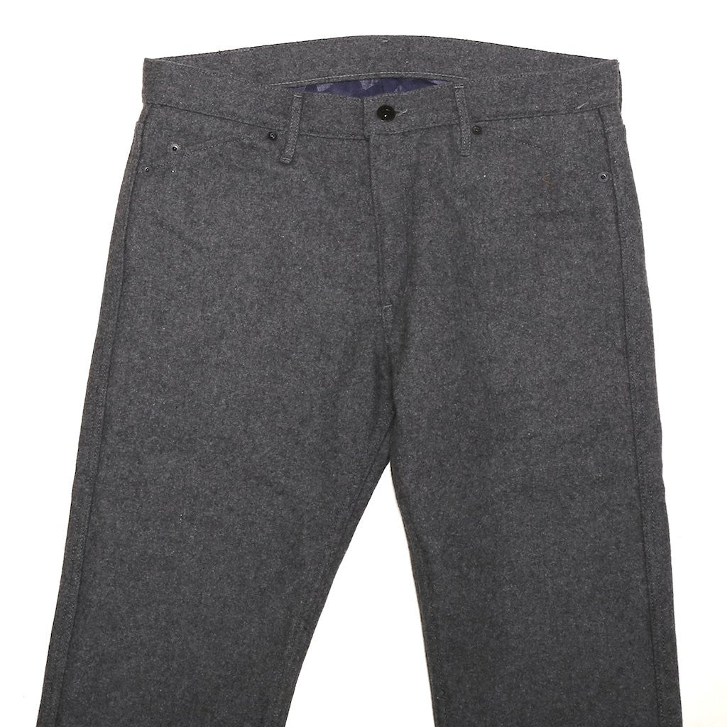 Japan Blue JB0418 Melton Wool Pants (Slim Tapered)