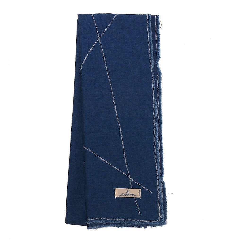 Japan Blue Indigo Gauze Scarf - Okayama Denim Accessories - Selvedge