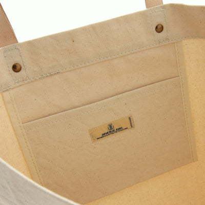 Japan Blue Parrafin Canvas Tote Bag - Okayama Denim Accessories - Selvedge