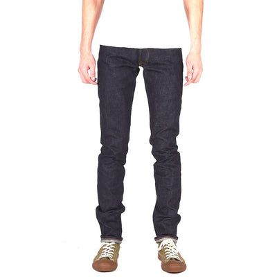 Japan Blue JB02S01 14.8oz. Pocket Stitch (Skinny) - Okayama Denim Jeans - Selvedge