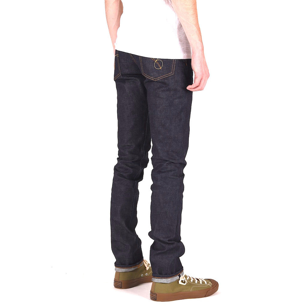 Japan Blue JB02S01 16.5oz. Pocket Stitch (Skinny) - Okayama Denim Jeans - Selvedge