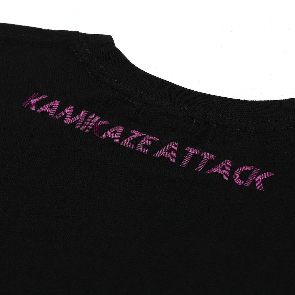 Kamikaze Attack Short Sleeve Skull T-Shirt - Okayama Denim T-Shirts - Selvedge
