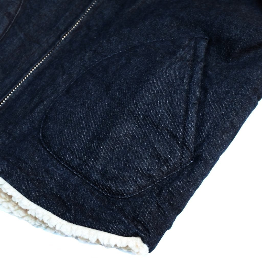 Kamikaze Attack Denim Vest