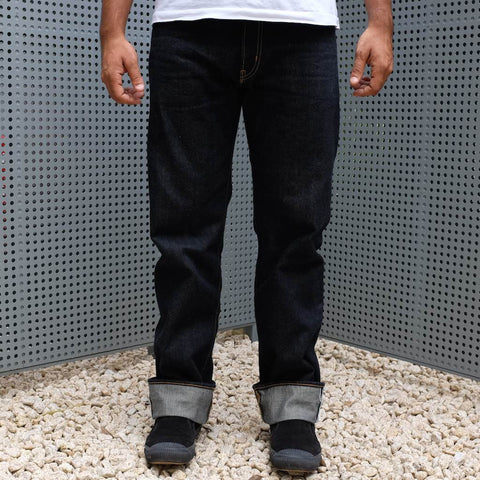 Punk Drunkers x Kamikaze Attack Selvedge Jeans (Regular Straight)