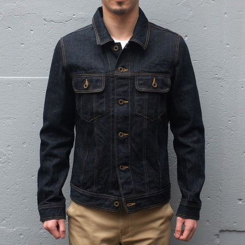 Kamikaze Attack 3rd Type Selvedge Denim Jacket