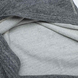 Loop & Weft LRC1026 Double Face Mock Turtleneck Thermal (Deep Gray) - Okayama Denim T-Shirts - Selvedge