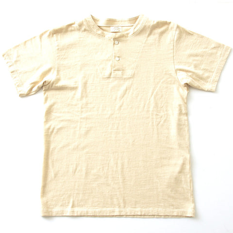 Loop & Weft Egyptian Nile Cotton Henley - Okayama Denim T-Shirts - Selvedge