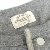Loop & Weft LRH1009 Supima Lightweight Cotton Henley Tee - Okayama Denim T-Shirts - Selvedge