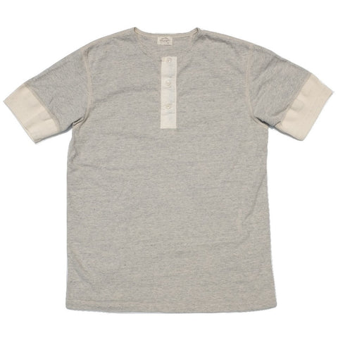 Loop & Weft LRH1014 Vintage Inspired Henley (Oatmeal)