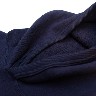 Loop & Weft LTS1004 Tompkins Knit 1950s Hooded Sweatshirt (Navy)