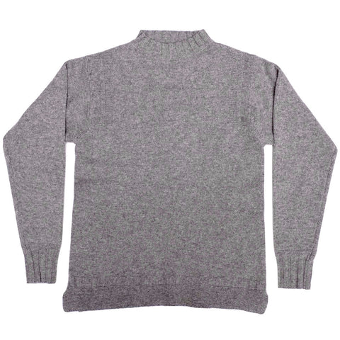 Loop & Weft Merino Lambswool Sweater (Ash Gray)
