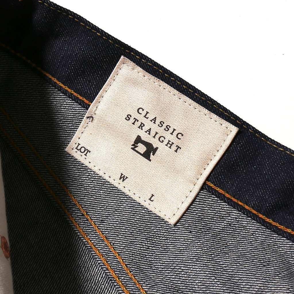 FDMTL MG00 Original Denim (Classic Straight) - Okayama Denim Jeans - Selvedge