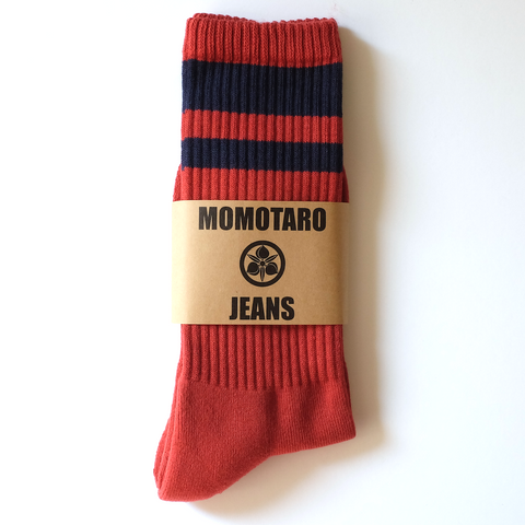 Momotaro GTB Socks (Red)