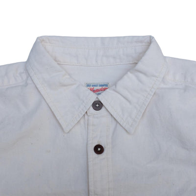 Momotaro Natural GTB 5oz. Chambray S/S Shirt