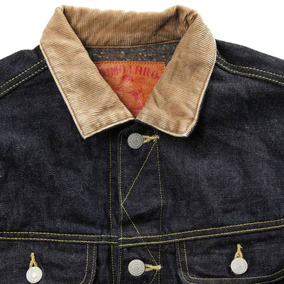 Momotaro 03-106 15.7oz Blanket Lined Denim Jacket