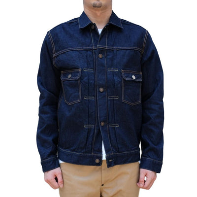 Momotaro Natural Indigo Weft 2nd Type Selvedge Jacket