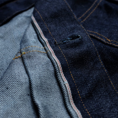 Momotaro Silk Weft 2nd Type Selvedge Jacket
