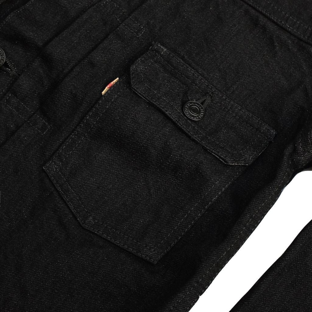 Momotaro B2105SP Black x Black 15.7oz. 2nd Type GTB Denim Jacket