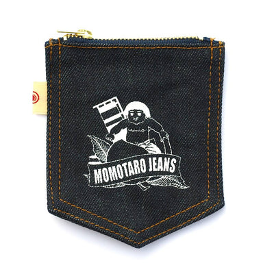 Momotaro Denim Pocket Pouch