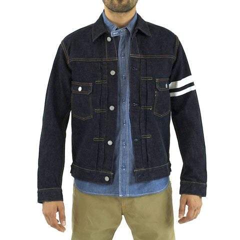 Momotaro 2105SP 15.7oz. 2nd Type GTB Denim Jacket - Okayama Denim Jacket - Selvedge
