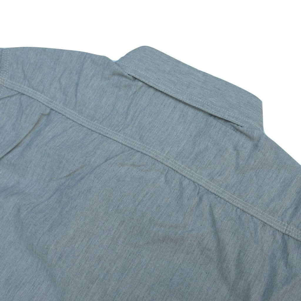 Momotaro MS033 5oz. Chambray Shirt (Gray)