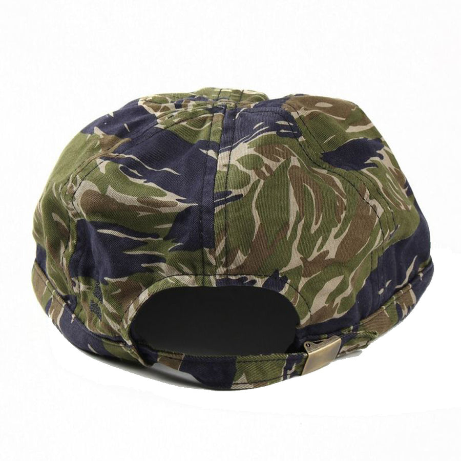 Momotaro Tiger Camo Mechanic Cap