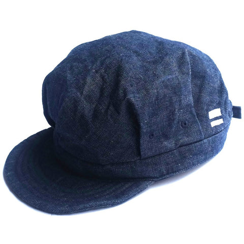 Momotaro Denim Railroad Work Hat