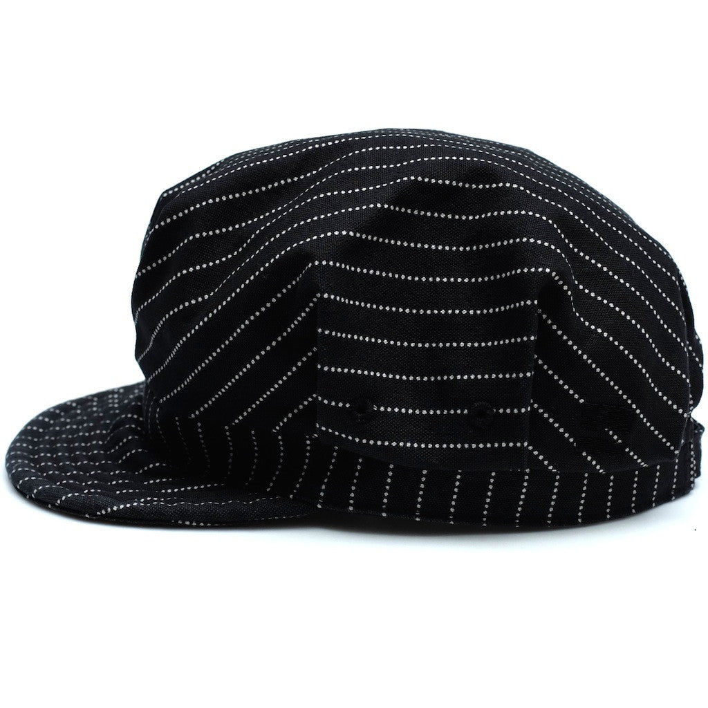 Momotaro Denim Railroad Black Wabash Work Hat