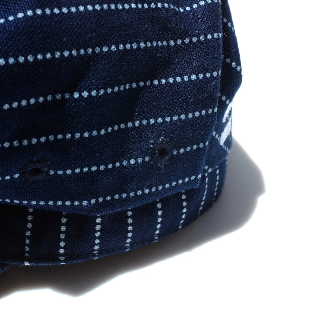 Momotaro Denim Railroad Indigo Wabash Work Hat