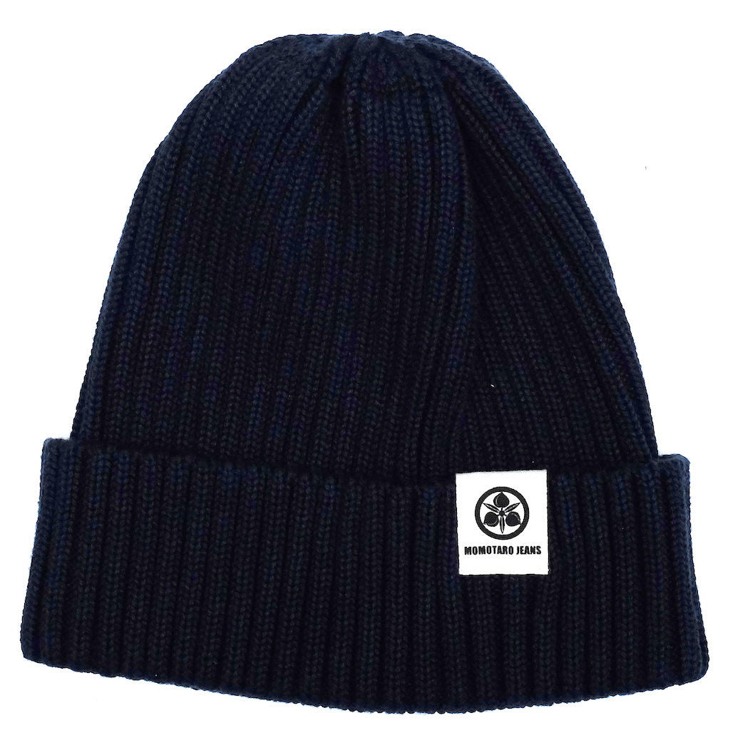 Momotaro Knit Naval Watch Cap (Navy)