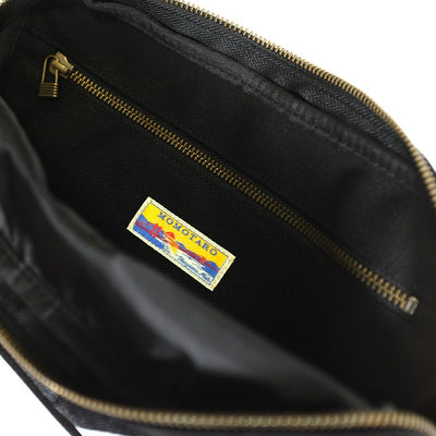 Momotaro B-12 GTB Denim Shoulder Bag - Okayama Denim Accessories - Selvedge