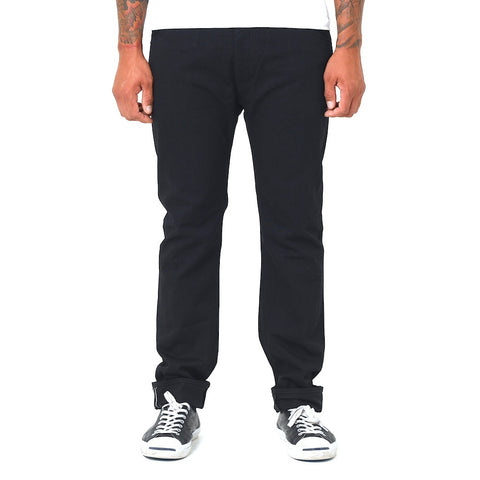 Kamikaze 10oz. Black Selvedge Denim (Slim Tapered) - Okayama Denim Pants - Selvedge